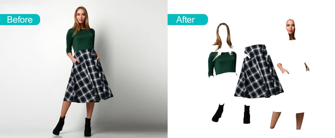 Multiple Clipping Path Services